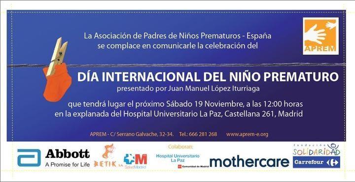 Día Internacional Del Niño Prematuro El Parto Es Nuestro